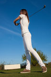 Golf player Royalty Free Stock Image
