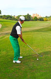 Golf player, Andalusia, Spain Royalty Free Stock Image