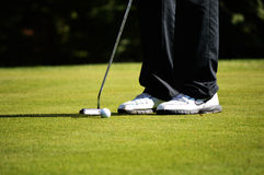 Golf Player Royalty Free Stock Images
