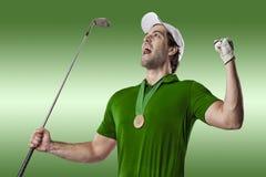 Golf Player Stock Photo