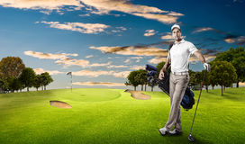 Golf Player Royalty Free Stock Photo