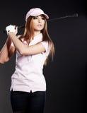 Golf Player Woman.