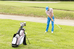 Golf player Royalty Free Stock Photos