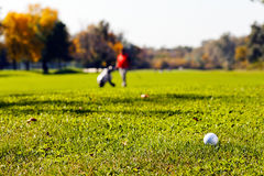 Golf players Stock Photo