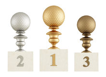 Golf podium Stock Photography