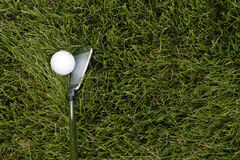 Golf practice Royalty Free Stock Photography