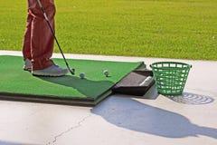 Golf practice Stock Photo