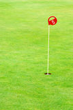 Golf Practice Putting Hole Royalty Free Stock Photography