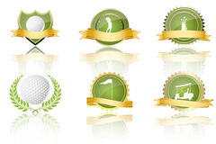 Golf prizes Stock Photography