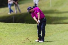 Golf Pro Harrington Iron Shot. Stock Photos