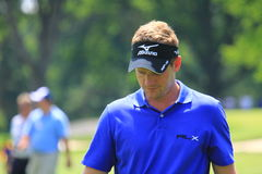 Golf pro Luke Donald of Britain Royalty Free Stock Photo