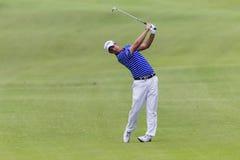 Golf Pro Manessero Swing Stock Photography