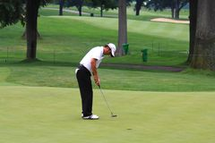 Golf pro Mike Weir Stock Photography