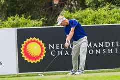 Golf Pro Driving Ball Stock Images