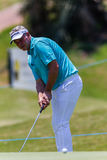 Golf Professional Darren Clarke Putting Stock Images