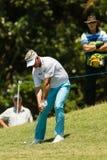 Golf Professional Darren Clarke Swinging Stock Photography