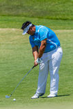 Golf Professional Kiradech Aphibarnrat Swinging Royalty Free Stock Photography