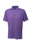 Golf purple tee shirt for man or woman Stock Photo