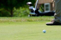 Golf Put Royalty Free Stock Image