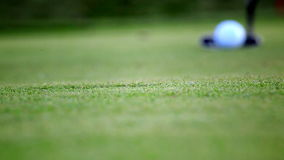 Golf put Royalty Free Stock Images