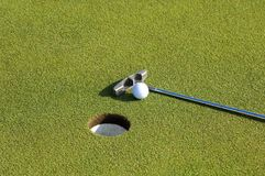 Golf putter Royalty Free Stock Images
