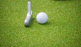 Golf putter Stock Photos