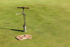 Golf Putting Green Cutter Hole Tools Stock Photography