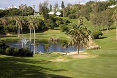 Golf-Rücksortierung Stockfoto