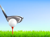 Golf Realistic Background Royalty Free Stock Images