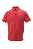 Golf red and white tee shirt on white background Royalty Free Stock Photo