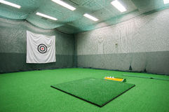 Golf room Royalty Free Stock Images