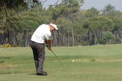 Golf - Ross McGOWAN, ENG. European Tour - Estoril Open de Portugal 2008, Oitavos Dunes 03-06April2008, Tournament golf photo, tee shot Stock Images