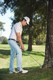 Golf in rough Royalty Free Stock Photos