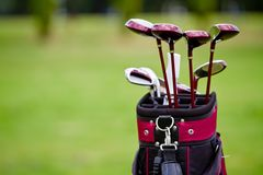 Golf sack Stock Photo