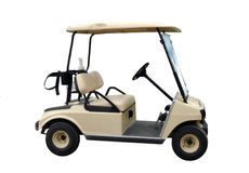 golf samochodu Fotografia Stock