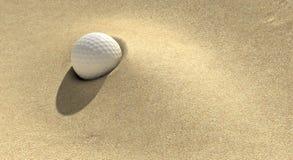 Golf-Sandfang Lizenzfreie Stockfotografie
