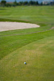 Golf scenes Royalty Free Stock Photo
