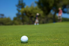 Golf-Schüsse Lizenzfreies Stockbild