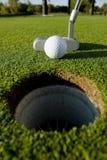 Golf-Schlag stockfotografie