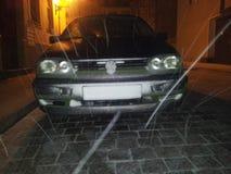 Golf Schnee de VW Photos libres de droits