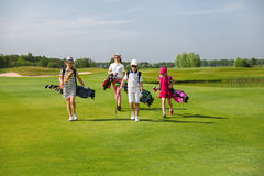 Golf school Royalty Free Stock Photography