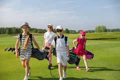 Golf school Royalty Free Stock Image