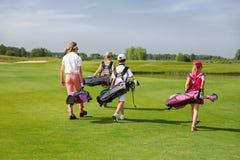 Golf school Royalty Free Stock Photos