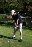 Golf-Schwingen Lizenzfreie Stockfotografie