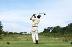 Golf-Schwingen Lizenzfreie Stockbilder