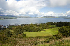 Golf in Scotland Royalty Free Stock Photo