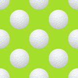 Golf seamless pattern Stock Photography