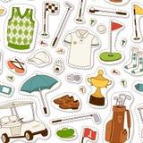 Golf seamless pattern .