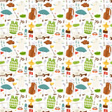 Golf seamless pattern vector. Royalty Free Stock Images