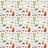 Golf seamless pattern vector. Stock Images